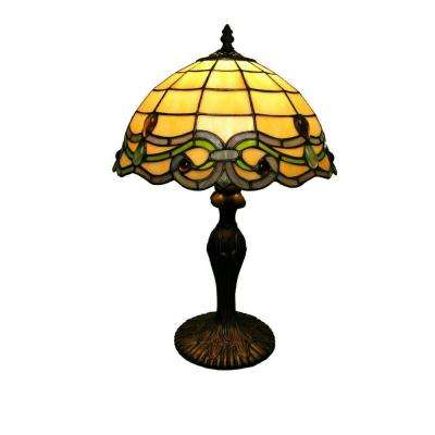 18 in. Simple Bronze Table Lamp with Inline Switch