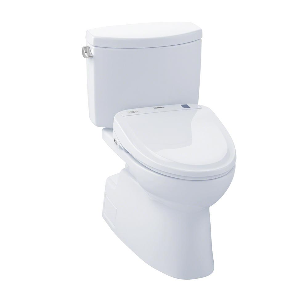 Toto Vespin Ii Connect 2 Piece 1 28 Gpf Elongated Toilet