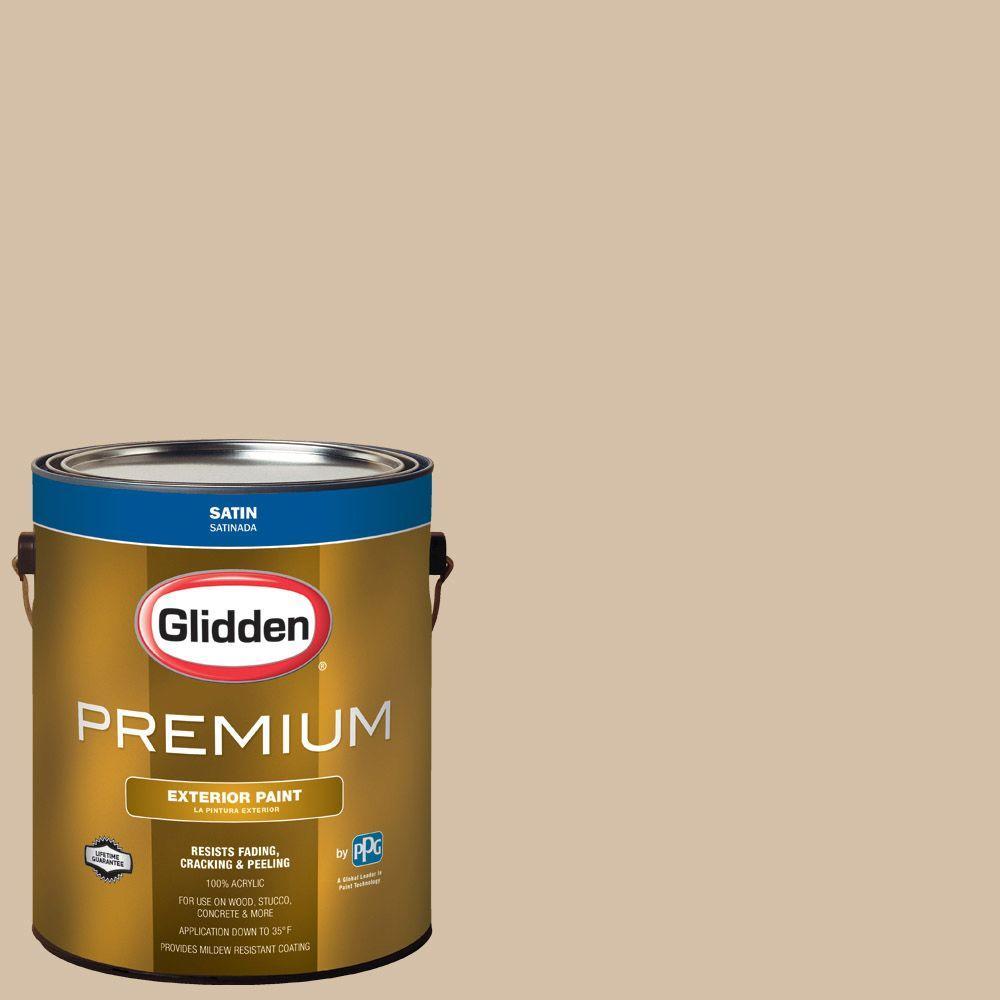 Hdgwn19 Mushroom Cap Satin Latex Exterior Paint