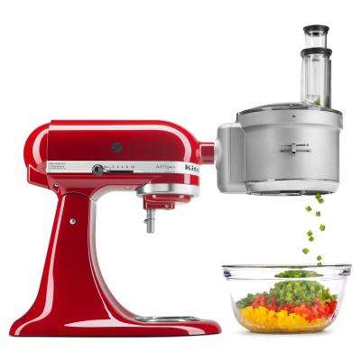KSM2FPA Gray Food Processor Attachment for KitchenAid Stand Mixer