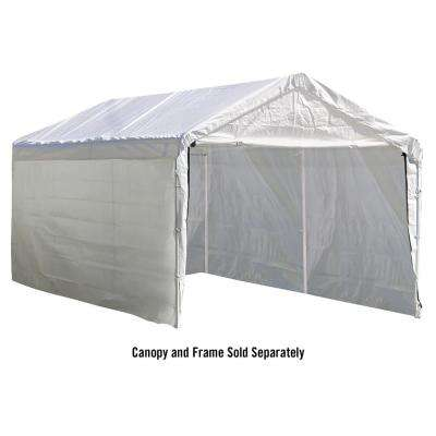 Enclosure Kit for Super Max 10 ft. x 20 ft. White Canopy (Canopy and Frame Not Included)