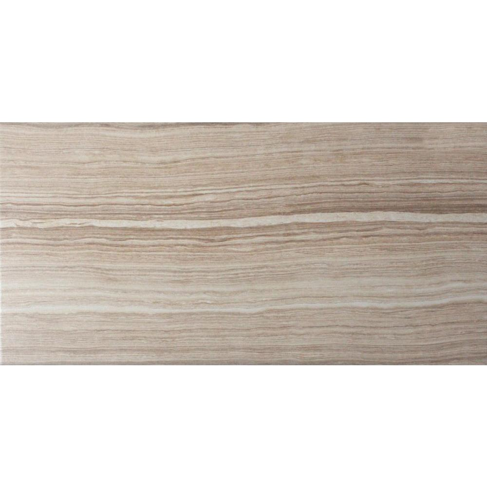 MSI Cresta Beige 12 in. x 24 in. Glazed Porcelain Floor and Wall ...