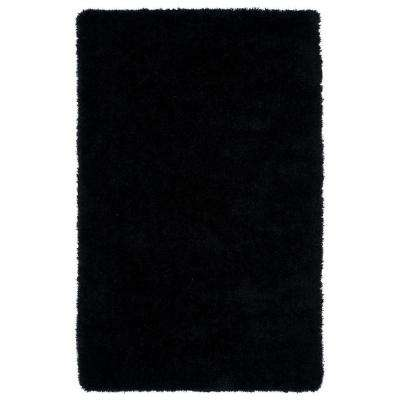 Posh Black 5 ft. x 7 ft. Area Rug