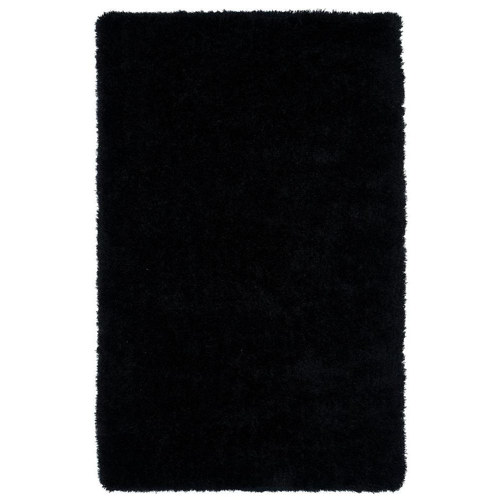 Kaleen Posh Black 8 ft. x 10 ft. Area Rug