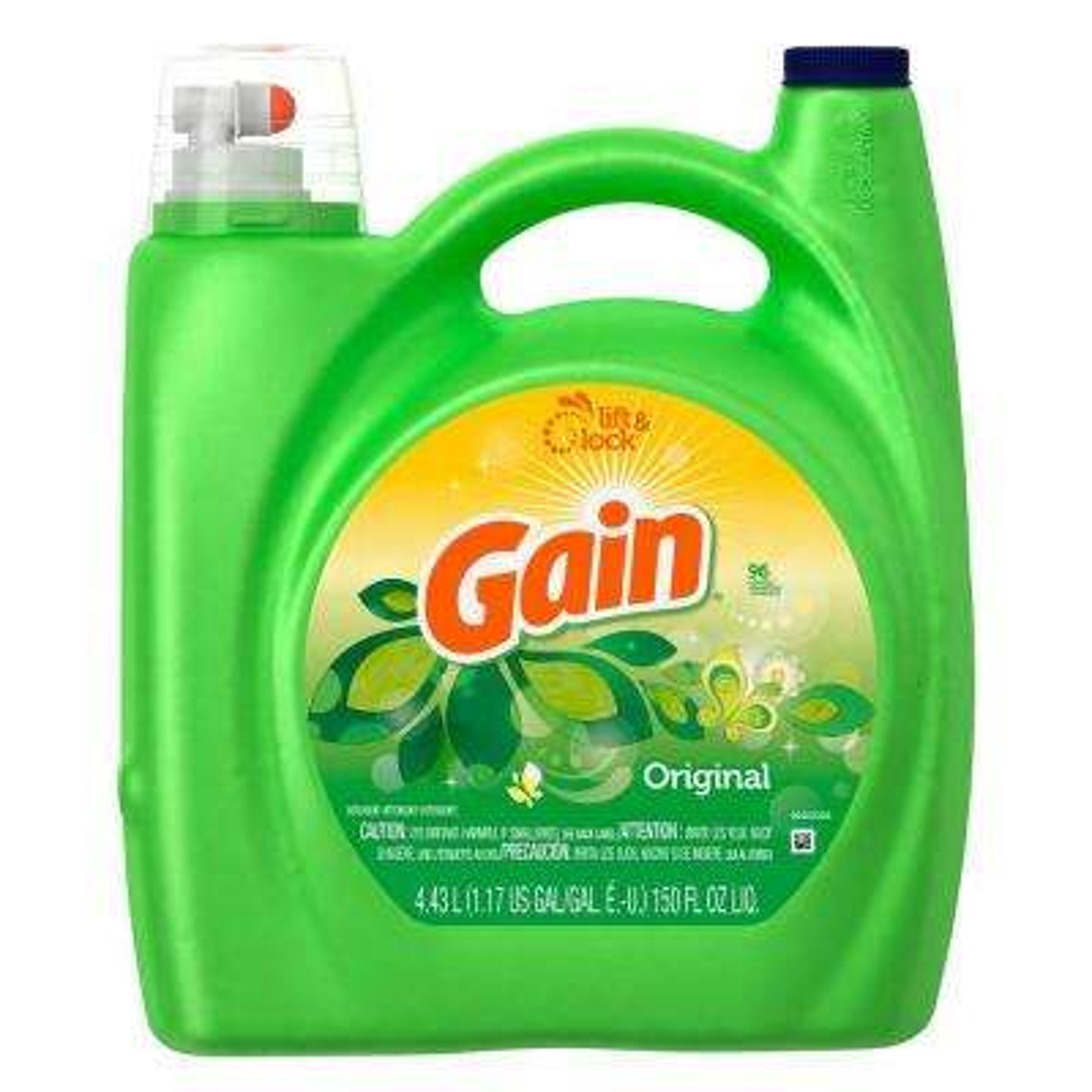 150 oz. Original Fresh Scent HE Liquid Laundry Detergent (96 Loads)