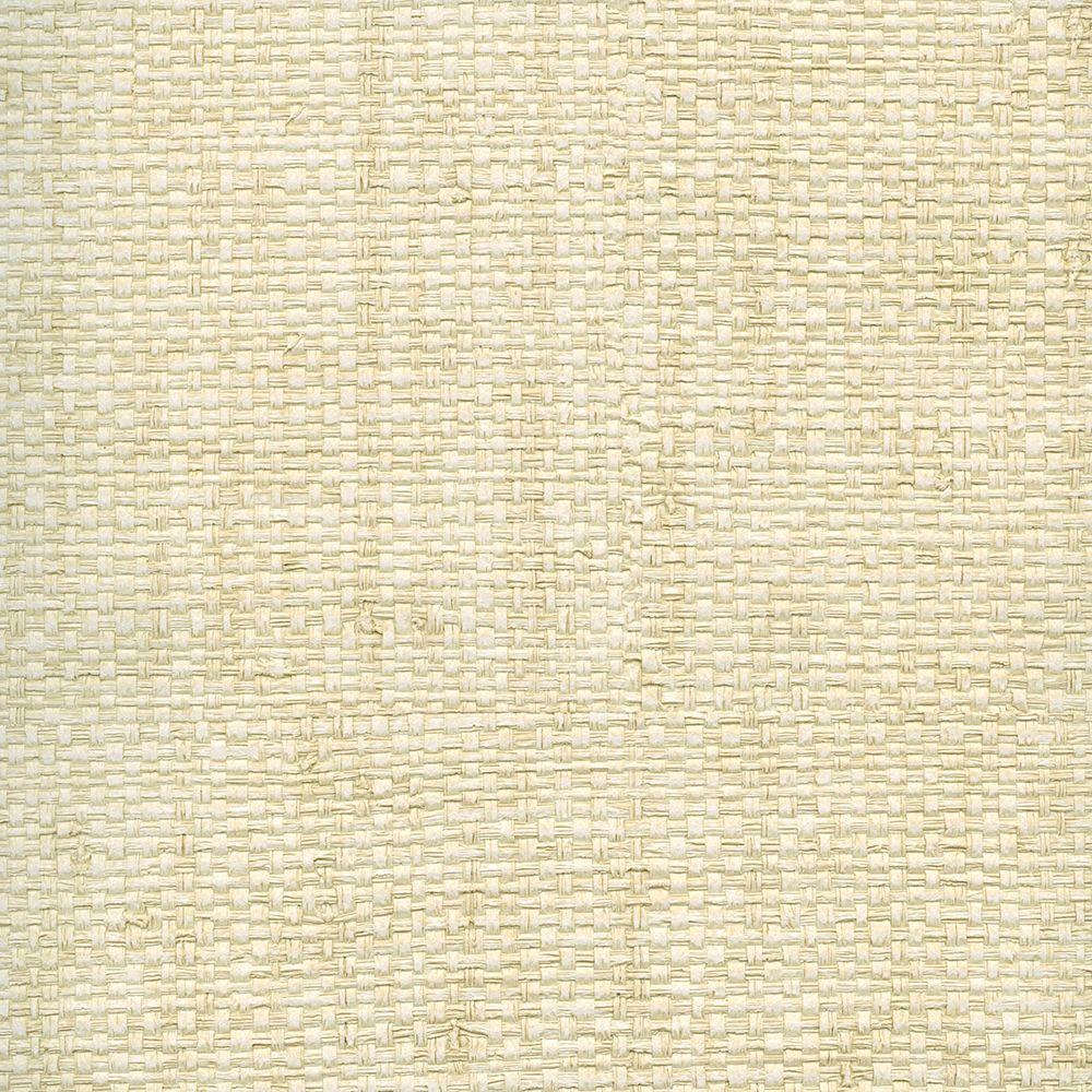 Grasscloth Wallpaper Samples: Chesapeake La Costa Beige Faux Grasscloth Wallpaper Sample