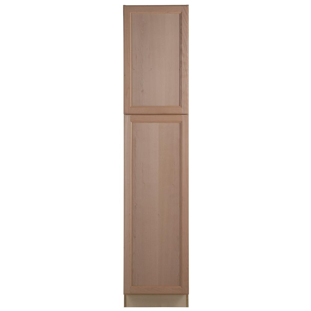 Hampton Bay Easthaven Assembled 18 x 84 x 24.63 in. Pantry ...