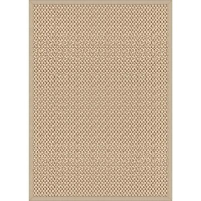 Safi Natural 5 ft. x 7 ft. Solid Area Rug