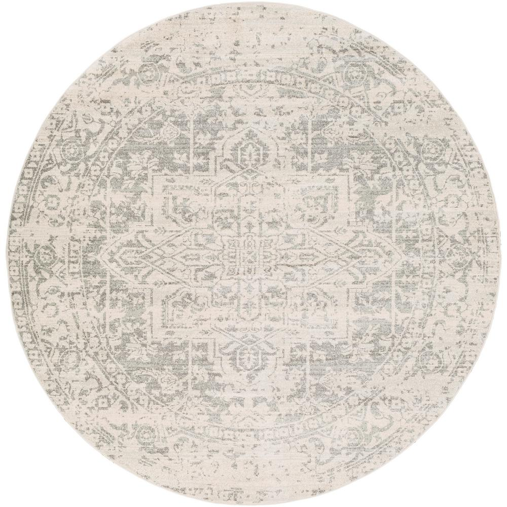 Artistic Weavers Demeter Gray 5 ft. 3 in. Round Area Rug was $150.01 now $74.58 (50.0% off)