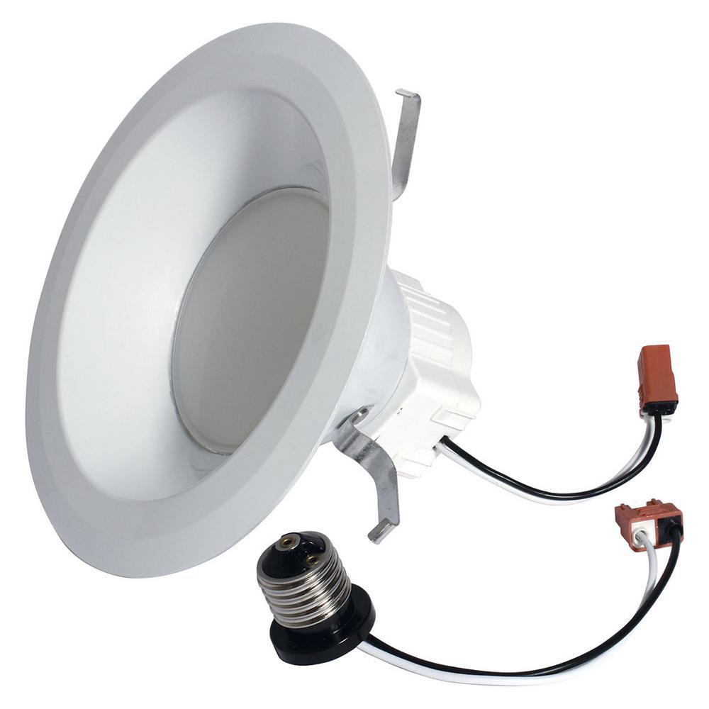 65W Equivalent Reveal (2850K) High Definition S6 Medium Base 6 in. LED Down Light Bulb