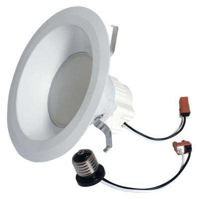 65W Equivalent Reveal (2850K) High Definition S6 Medium Base 6 in. LED Down Light Bulb