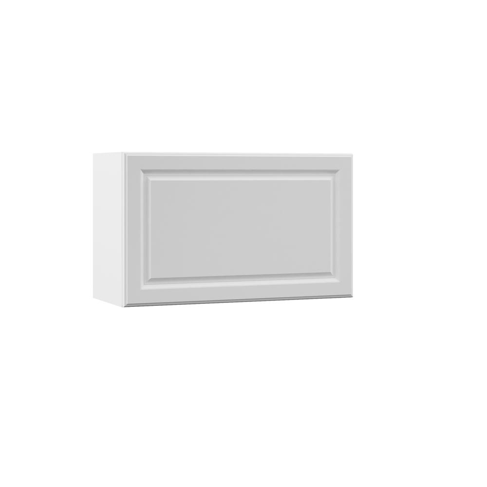 Elgin Assembled 30x18x12 in. Wall Lift Up Door Kitchen Cabinet in
