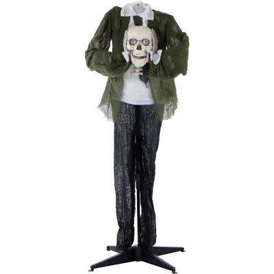 5 ft. Animatronic Headless Man Halloween Prop