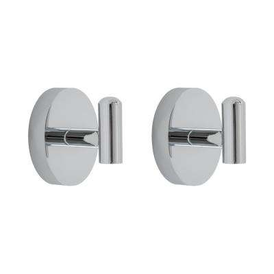 Amalfi 2-Piece Bath Hardware Set in Polished Chrome