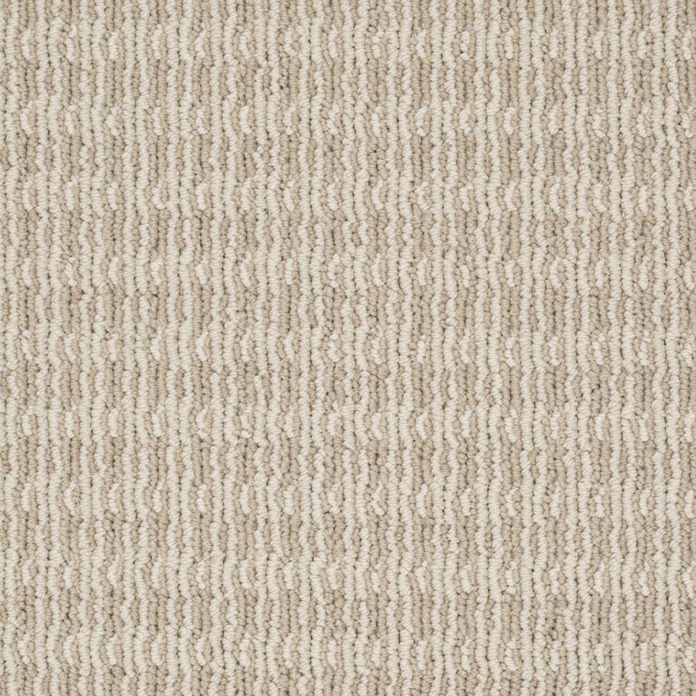 Martha Stewart Living Waltonsworth - Color Snail Shell 6 in. x 9 in. Take Home Carpet Sample