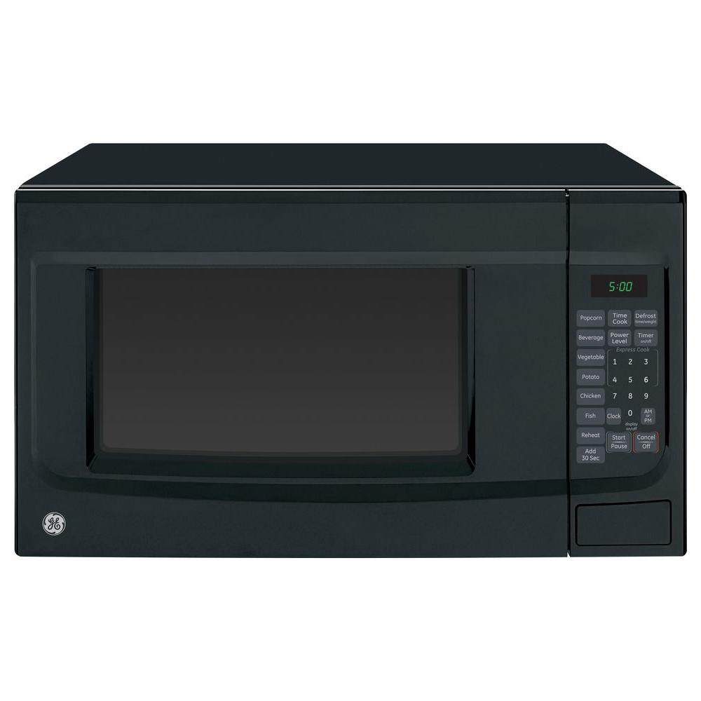 GE 1.4 cu. ft. Countertop Microwave in Black