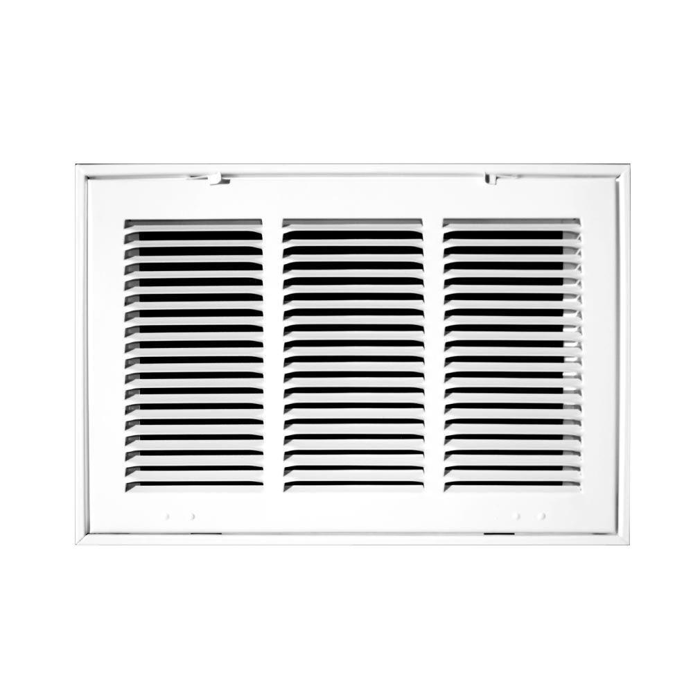 Truaire 25 in x 16 in white return air filter grille for How to improve airflow in vents