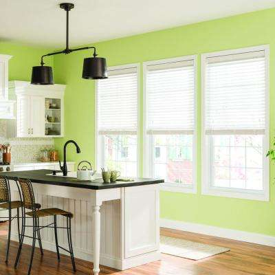 Bali Cordless Valance Faux Wood Blinds Blinds The Home Depot