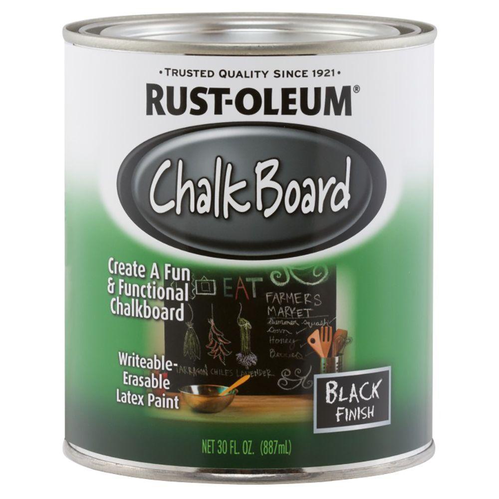 30 oz. Flat Black Chalkboard Paint