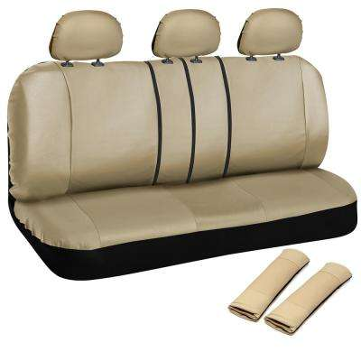 Polyurethane Bench Seat Cover 21.5 in. L x 23 in. W x 31 in. H Bench Seat Cover Beige