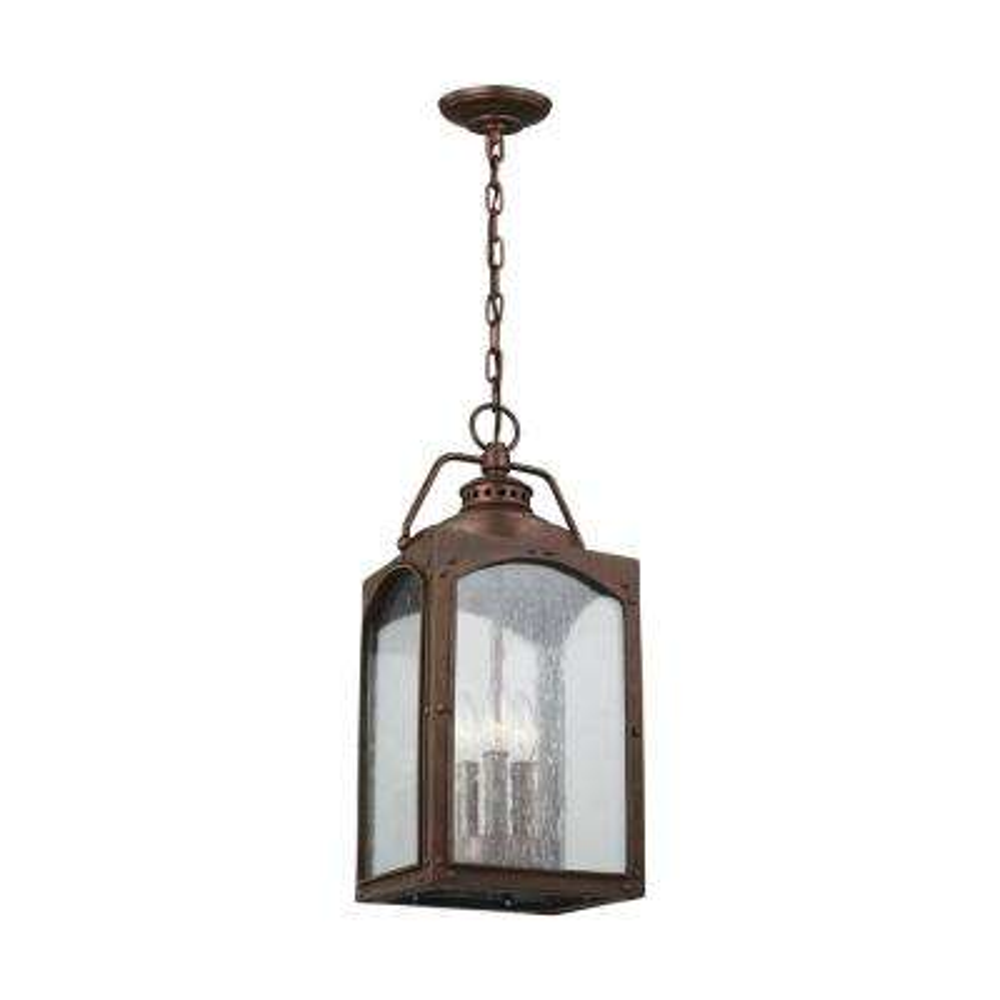 Randhurst Copper Oxide 3-Light Outdoor Hanging Lantern