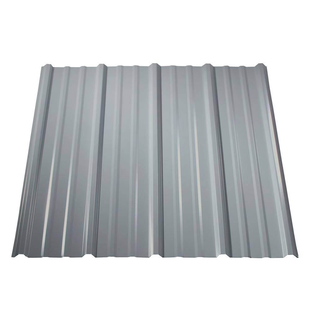 Metal Roofing Panels : Metal sales ft pro panel ii roof in white