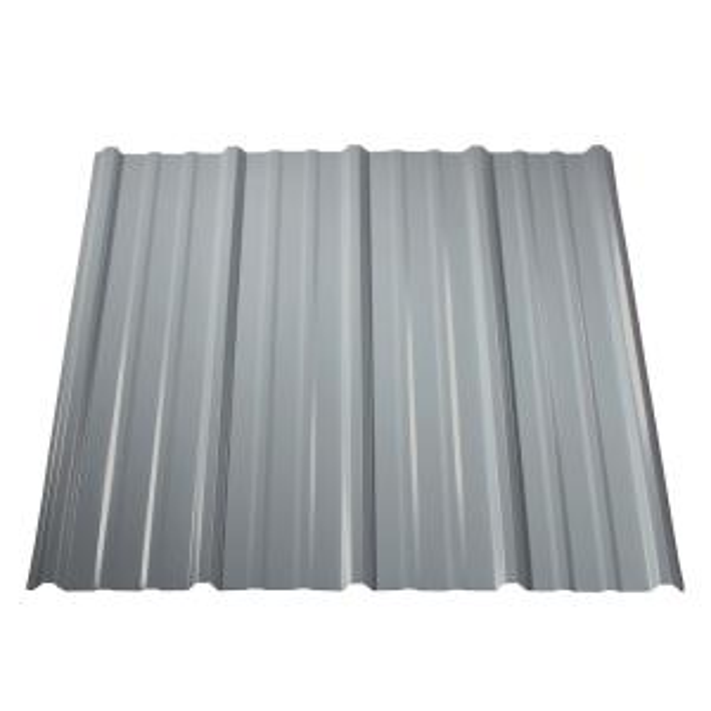 Metal Sales 12 Ft Pro Panel Ii Metal Roof Panel In White