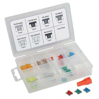 Low Profile Mini Fuse Assortment (36-Piece)