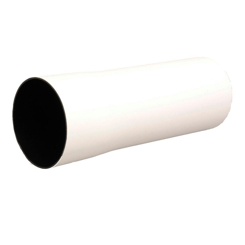 Advanced Drainage Systems 6 in. x 10 ft. Solid Smoothwall Poly Pipe