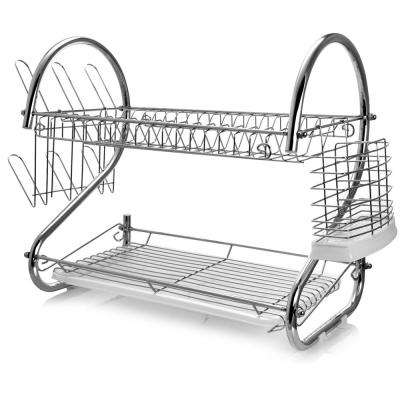 16 in. 2-Shelf Dish Rack