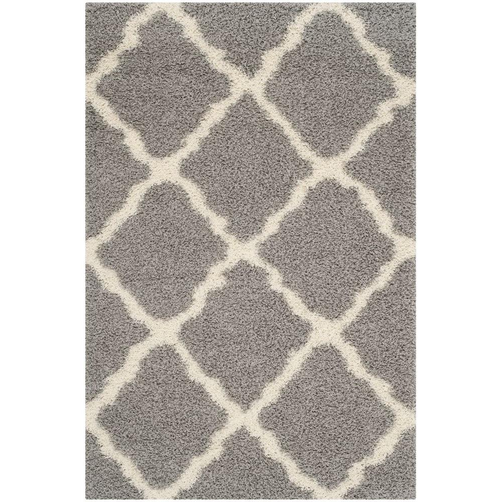 Safavieh Dallas Gray Ivory 6 Ft X 9 Area Rug