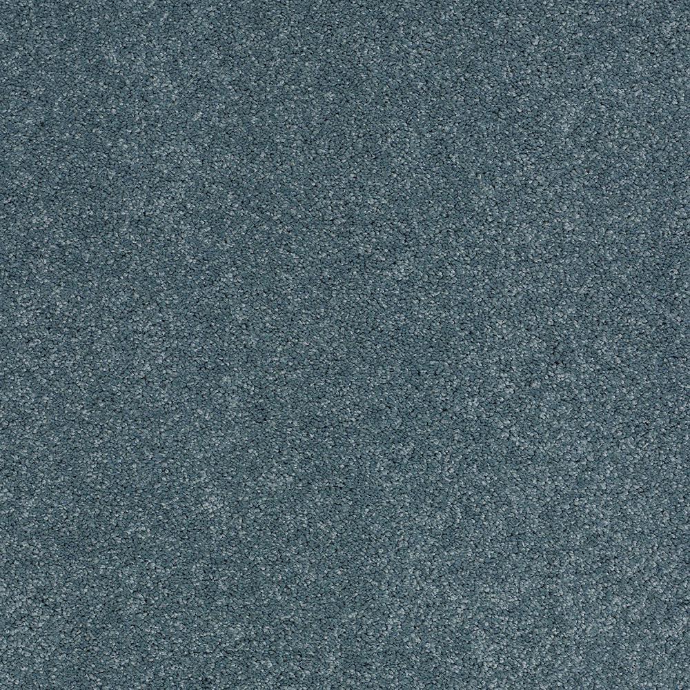Carpet Sample - Coral Reef II - Color Ocean Wave Texture 8 in. x 8 in.