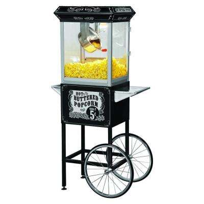 Carnival Style 8 oz. Popcorn Machine & Cart