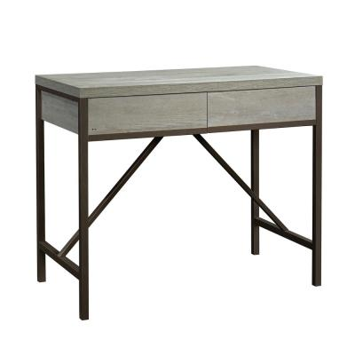 Manhattan Gate 45 in. Mystic Oak Standard Rectangle Composite Console Table with Drawers