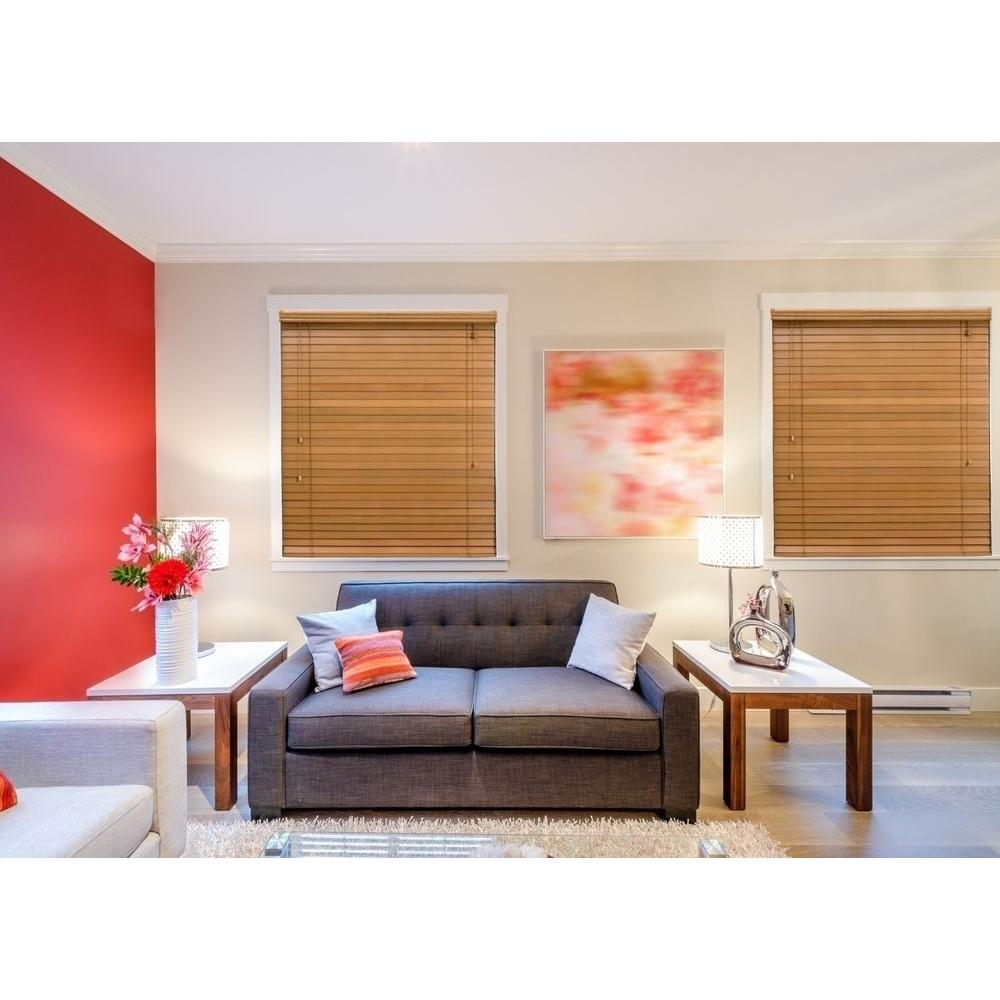 Home Decorators Collection Golden Oak 2 In Basswood Blind