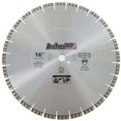 16 in. Diamond Blade for Concrete Cutting