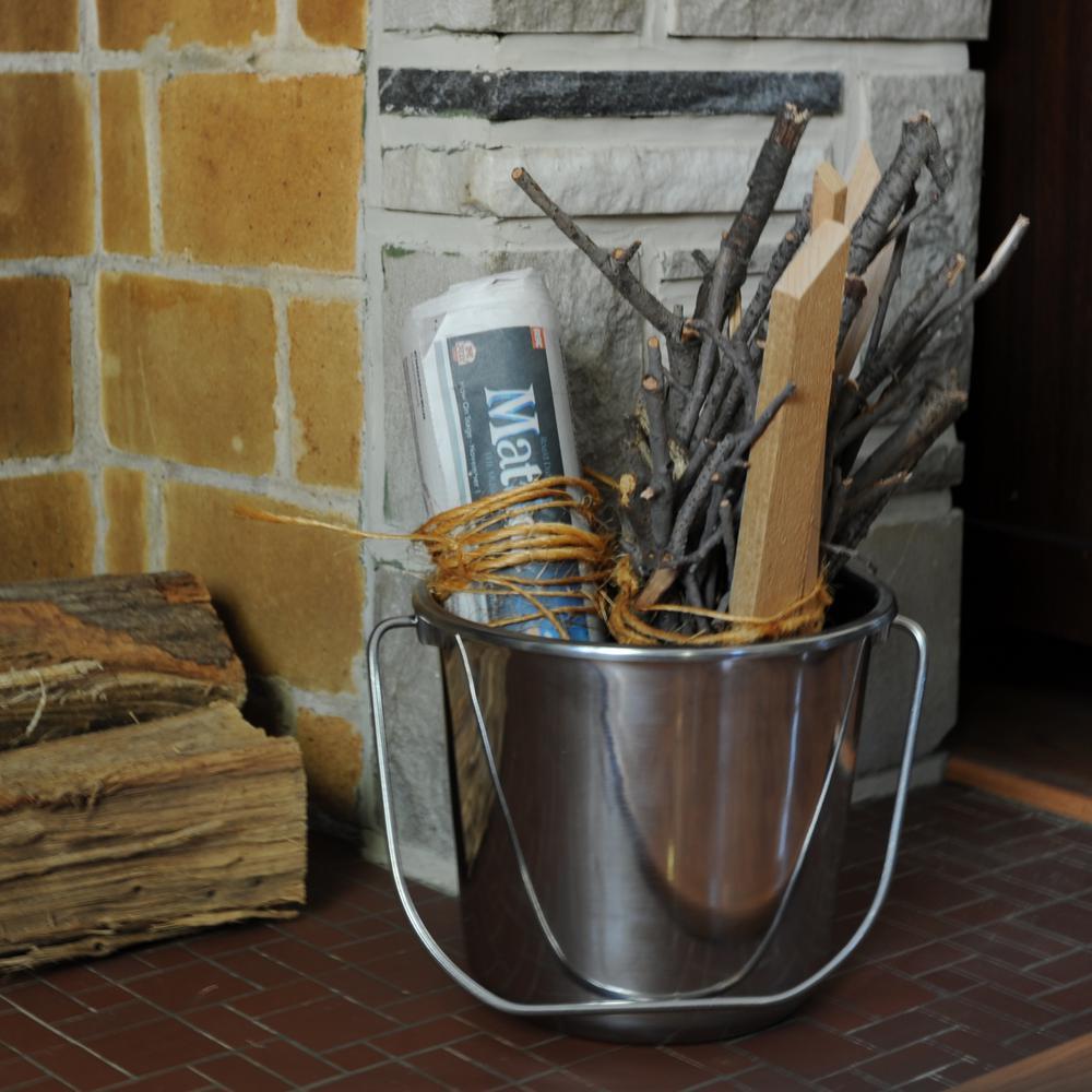 Old Dutch International 17 x 15 x 11 Inch Decor Copper Beverage Cooler with Brass Lion Head Handles 880