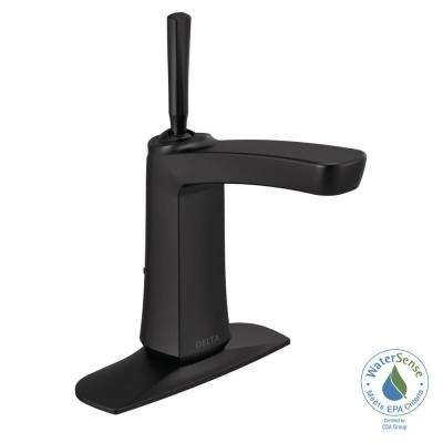 Vesna 4 in. Centerset Single-Handle Bathroom Faucet in Matte Black