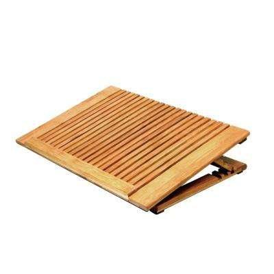 Bamboo Dual Fans Cooling Stand for Laptop Computer