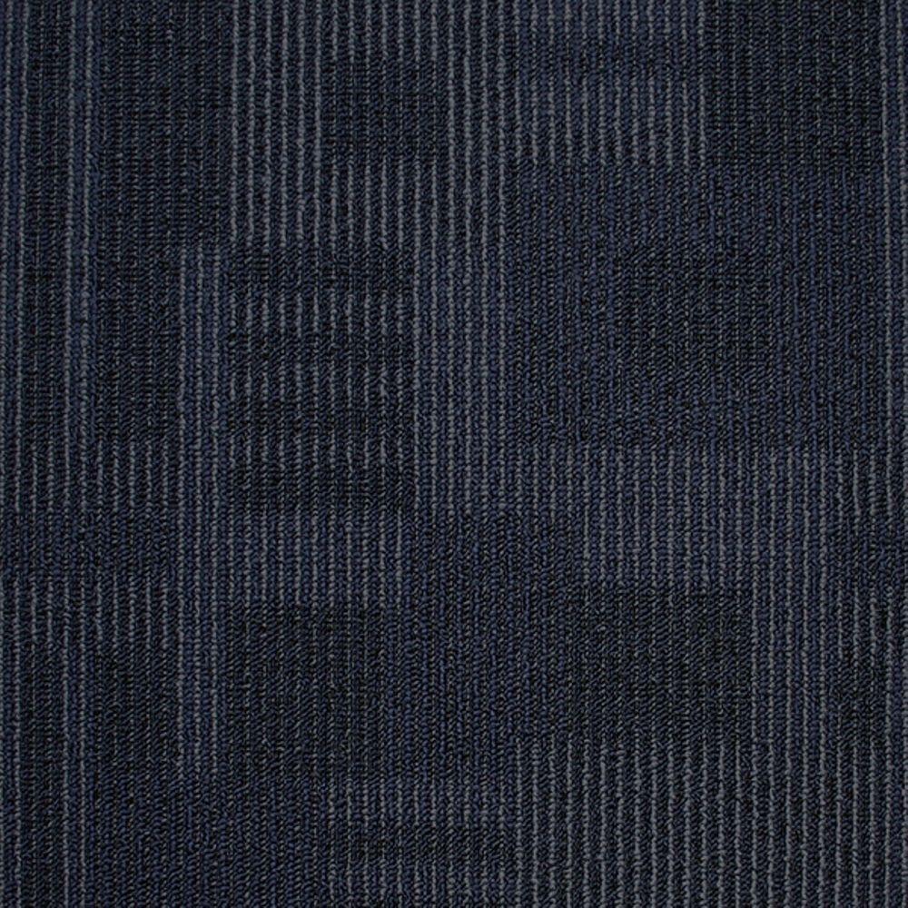 Board of Directors Spirited Seas Loop 19.7 in. x 19.7 in. Carpet Tile (20 Tiles/Case)