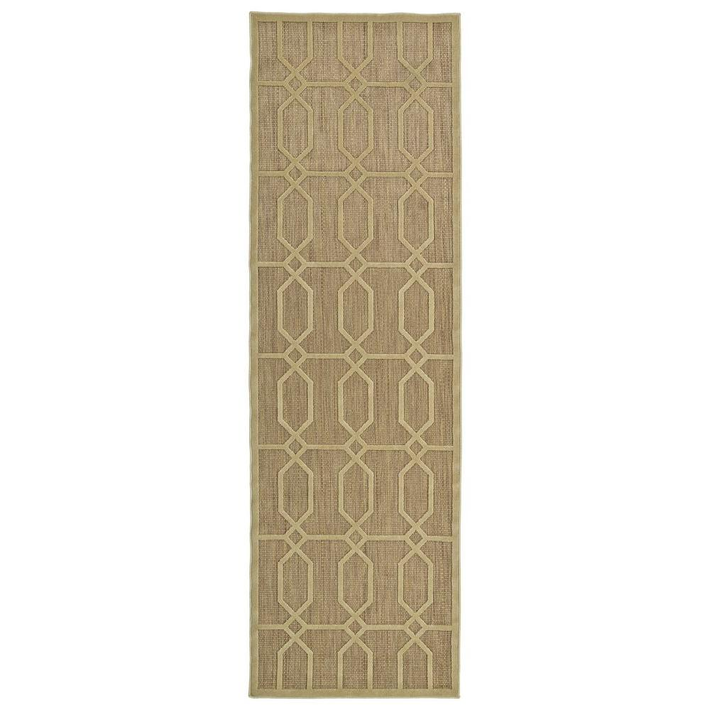 Five Seasons Khaki 2 ft. 6 in. x 7 ft. 10