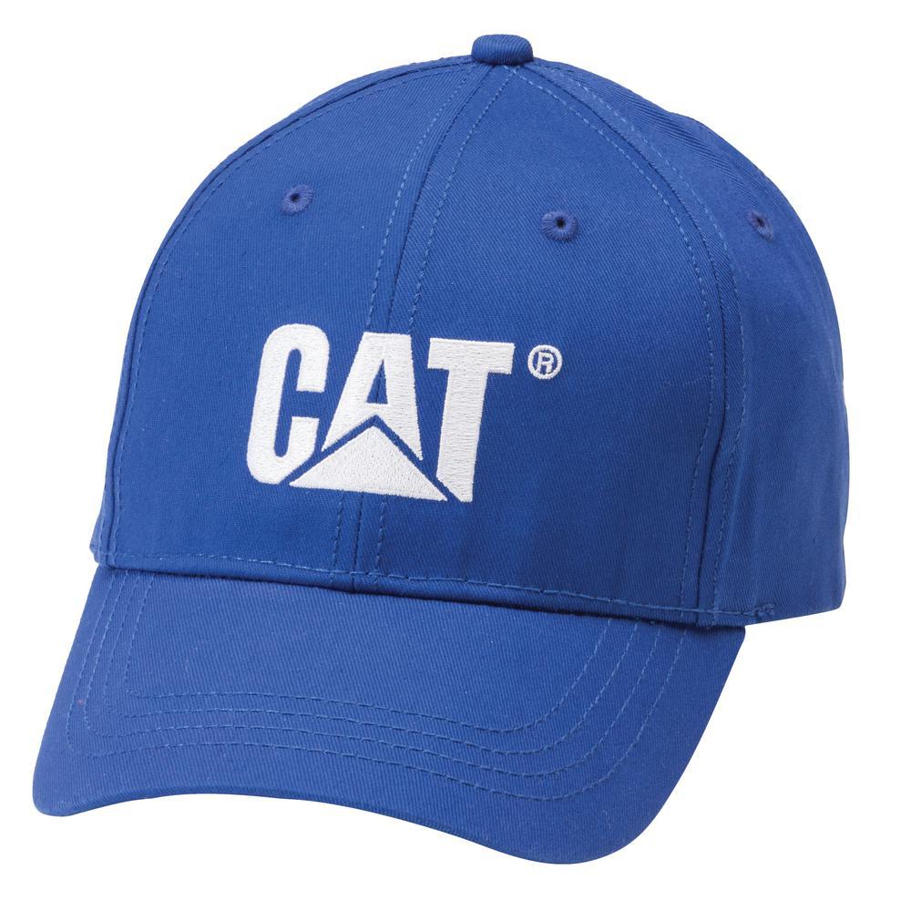 Trademark Men's One Size Bright Blue Cotton Canvas Cap Headwear