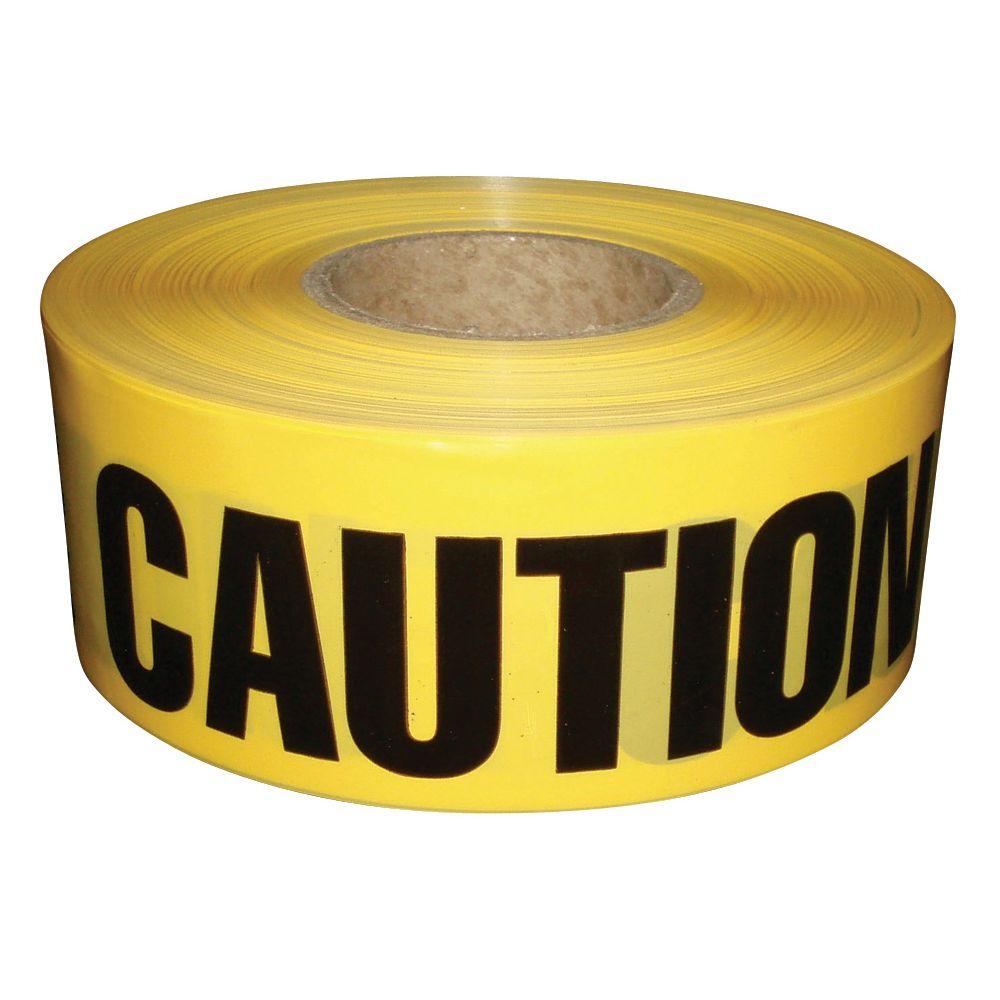 Safety Flag Caution Tape 200 Ft Role.