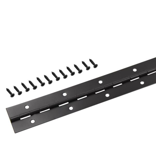 1-1/2 in. x 48 in. Oil-Rubbed Bronze Continuous Hinge