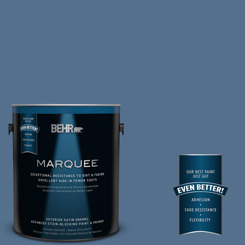 BEHR MARQUEE 1-gal. #PPF-47 Porch Song Satin Enamel Exterior Paint
