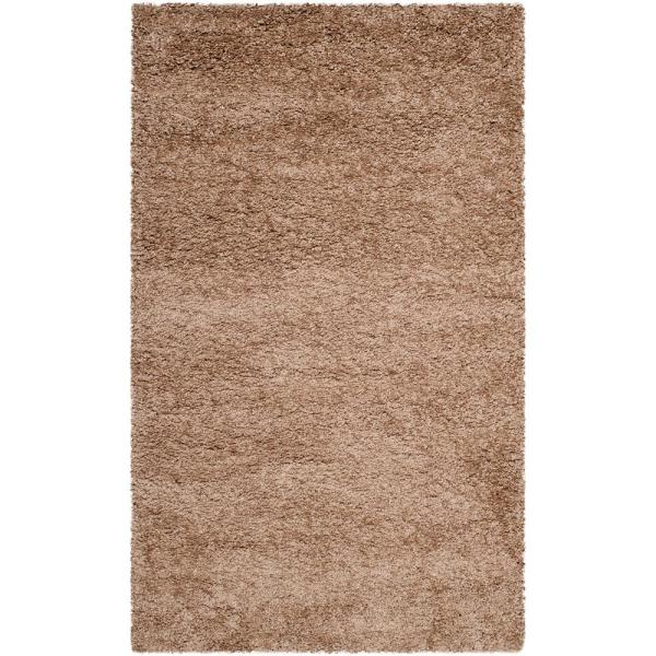 Safavieh Milan Shag Dark Beige 8 Ft X