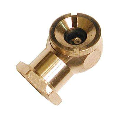 Solid Brass Air Chuck with Female Ball Foot Style with 1/4 in. Female NPT