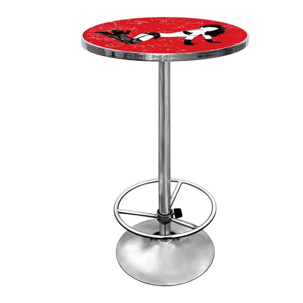 Shadow Babes B Series Red Pub/Bar Table