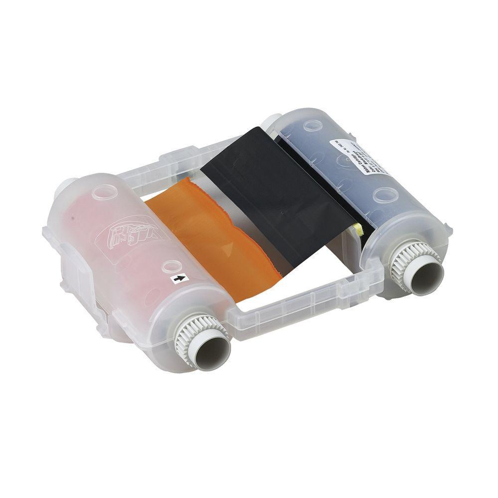 GlobalMark Black/Orange Panel Ribbon Cartridge
