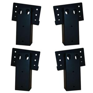 Elevators 4 in  x 4 in  Double Angle Brackets (4-Set)-E188 - The Home Depot